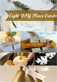 thanksgiving place cards you can make what meegan makes