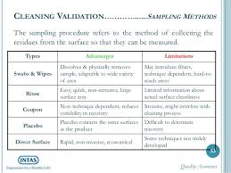 cleaning validation a complete know how