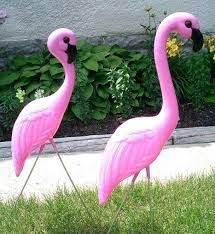 pink flamingo lawn ornaments pink flamingo yard ornaments traditional huge pink flamingos yard