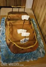 cake wrecks home all hands on wreck pirate ship wedding cake