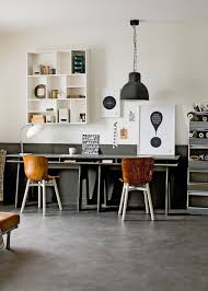 Home Office Lighting Ideas 27 Easy And Practical Industrial Home Office Design Ideas