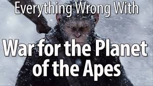 Planet Of The Apes Meme - everything wrong with war for the planet of the apes youtube