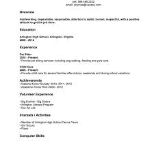 student resume template resume template breathtaking high school student exles fors