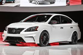 nissan sentra race car nissan sentra nismo concept debuts with 240 hp turbo i 4 motor