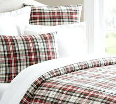 Flannel Duvet Covers Bedroom Plaid Flannel Duvet Covers Eurofestco Cover Sheets And
