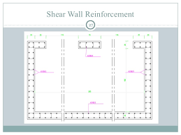 Analysis And Design Of A Multi Storey Reinforced Concrete - Reinforced concrete wall design example