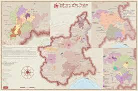 Italy Wine Regions Map Italy Piedmont Wine Region Map