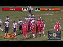 high football alta survives barn burner against skyridge