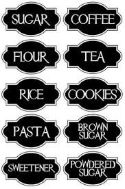 labels for kitchen canisters free printable kitchen spice labels free printables