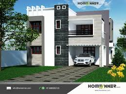 design from home 2960 sq ft 4 bedroom indian house design front
