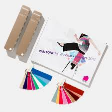 fashion home interiors line of color tools pantone pantoneview home interiors 2018 kit