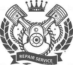 subaru emblem drawing auto repair service emblem symbolic engine royalty free stock