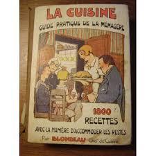 livre de cuisine ancien cuisine guide pratique de la ménagère 1800 recettes avec la