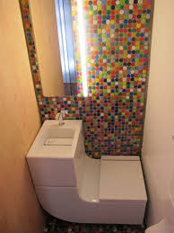 Small Bathroom Vanity Sink Combo Tiny House Toilet And Sinks Wash Basin Water Closet Saving Water
