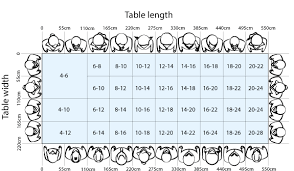 rectangle dining table sizes dining table size and seating guide