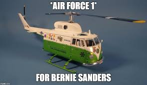 Air Force One Meme - bernie sanders air force 1 imgflip