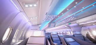 Aircraft Interior Design Aircraft Interiors Expo 2016 Airbus Reveals Full Scale Cabin Mock