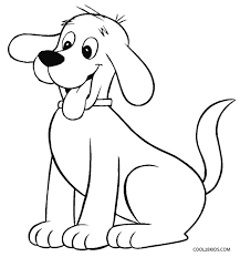 coloring page of a big dog dog coloring page coloring page
