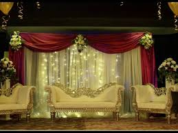 indian wedding reception stage decoration ideas 9251