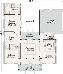 4 Bedroom Floor Plans For A House Best 25 U Shaped House Plans Ideas On Pinterest U Shaped Houses