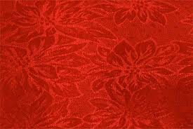 bright poinsettia damask table cloth tableware
