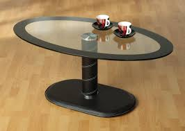 Wood Oval Coffee Table - oval glass coffee tables