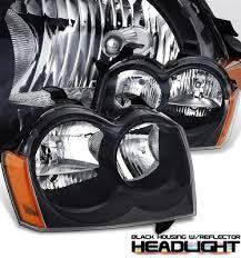 2005 jeep grand fog lights jeep grand 2005 2007 black headlights a101k1sr102