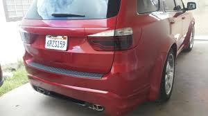 Dodge Durango Rt 2016 - dodge durango wide body kit custom hood