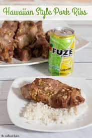 hawaiian style pork ribs recipe by the redhead baker