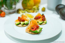 canape toast healthy canape ideas fitness on toast