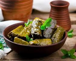 cuisine libanaise recette recette dolmas feuilles de vigne farcies à la libanaise facile