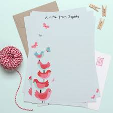 personalized stationery tinyme