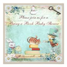 bring a book baby shower bring a book in baby shower card zazzle