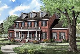 brick colonial house plans brick colonial house style latavia