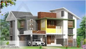 delightful modern house elevation from kasaragod kerala kerala