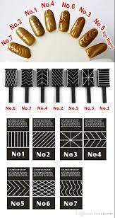 7design magnetic slice tips for nail art magnetic magnet nail
