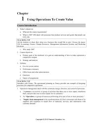 solution manual operations management 11th edition krajewski by