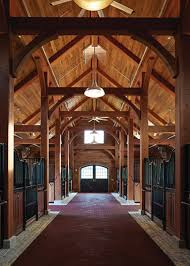 Tall Timber Barn Timber Frame Non Residential New Energy Works