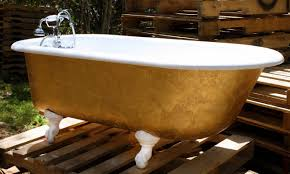 outdoor bathroom designs make your bathroom alive with colored bathtubs homesfeed