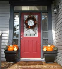 fall porch decorating ideas a pretty in the suburbs