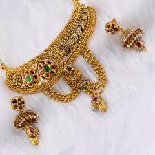 gold har set gold antique har set ahrs 0145 gold necklace jewellery
