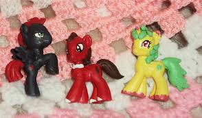 Mlp Blind Bag The Gang U0027s All Here Mlp Blind Bag Customs By The Clockwork Crow On