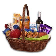 Gourmet Gift Basket Gourmet Gift Basket White Wine Holiday Set