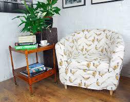 Ikea Tullsta Armchair Slip Cover For The Ikea Ektorp Tullsta Tub Chair In Pheasants