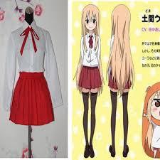 Seragam Sekolah Lengan Panjang new anime himouto umaru chan kostum wanita seragam sekolah