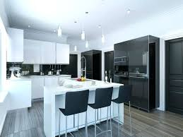 maple cabinets with black island white kitchen black island maple cabinetry painted off white with a