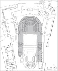 Globe Theatre Floor Plan Royal Shakespeare Theatre Stratford Upon Avon By Bennetts