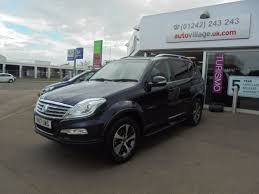 used ssangyong rexton w 22 elx plus edition 5dr tip auto 7 seat
