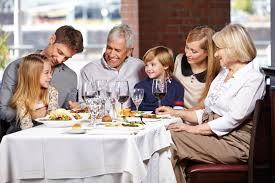 Kids Eating Table Dining Out With Kids On The Autism Spectrum Requires Preparation