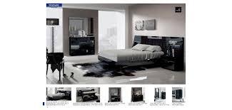 Lacquer Bedroom Set by Marbella Black Lacquer Bedroom Set Fenicia Mobiliario Spain